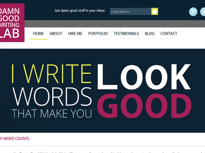 Copywriting Site